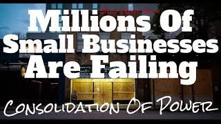 "Millions Of Small Businesses On The Verge Of Failure ""Relief"" Package Funds 5% Of Small Businesses"