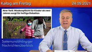 24.9.2021 - unbedingt anschauen !!!   Kinderfolter mit Masken - Kaitag am Freitag #265