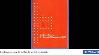 Die Schweizer Bundesverfassung ist ungültig wegen der Totalrevision!!