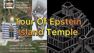 Inside Epstein Island Temple - Underground Complex, Ritual Room? Slave Room? Bedrooms? (Re-Upload)