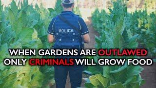 When Gardens Are Outlawed, Only Criminals Will Grow Food