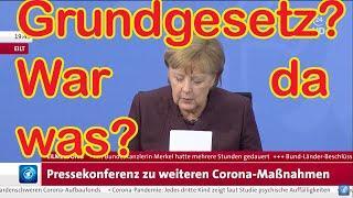 Dreiste Missachtung für das Grundgesetz und für die Menschen: Entlarvung auf dem Corona-Gipfel