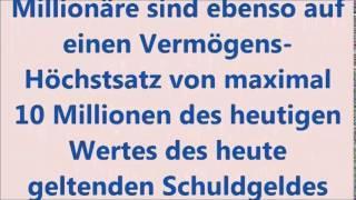 Milliardaere, Billionaere, Trillionaere abschaffen - das Uebel der Welt beseitigen