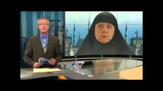 ARD zeigt Merkel mit Kopftuch