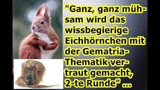 """""""Ein Eichhörnchen möchte Gematria begreifen!!!"""" ..."""