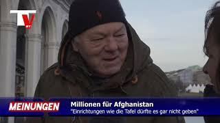 """DIE TAFEL """"viele Deutsche hungern, aber Millionen sind da fürs Ausland"""""""