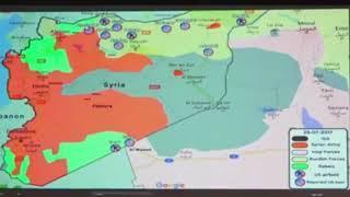 USA haben in Syrien 10 Militärstützpunkten - ohne Einwilligung der Regierung Syriens