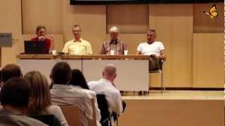 Dr. Manfred Doepp und Alexander Glogg-Symposium der Grenzwissenschaft
