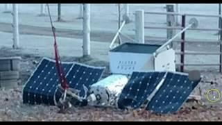Samsung Space Selfie Satellite Crashes Onto Michigan Property