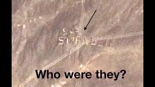 HUGE *SOS STRANDED* sign found in REMOTE desert on Google Earth! How did they get there?