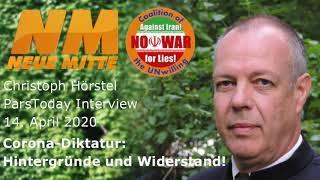 Corona-Diktatur: Hintergründe und Widerstand! Christoph Hörstel ParsToday 2020-4-14