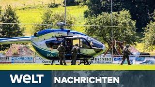 10. Juli 2020 !  Mann entwaffnet Polizisten und flüchtet – Großaufgebot im Einsatz