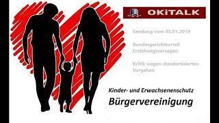 OKiTALK Sendung vom 03.01.2019 - Systematische Obhutsentzüge bis zum Bundesgericht unterstützt