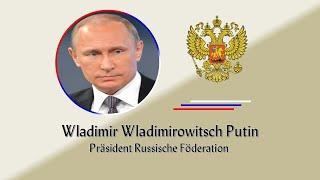 Präsident Putin wendet sich an die NATO mit friedensstiftendemVorschlag