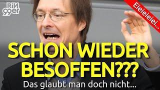 Karl LAUTERBACH wieder BESOFFEN?