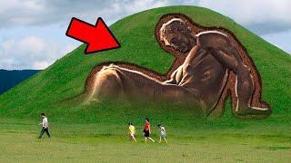 Der endgültige Beweis - Es gab sehr große humanoide Wesen - weltweit