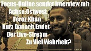 Chemnitz: Focus Online interviewed unfreiwillig achse:ostwest / Feroz Khan
