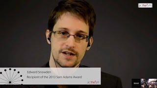 Edward Snowden:  Rede beim Sam Adams Award 2015 (Deutsch)