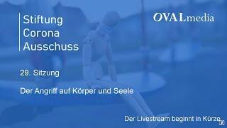 Stiftung Corona Ausschuss: Sitzung 29 – Prof. Christian Schubert & Prof. Claudia von Werlhof