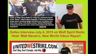 Bilderberger, POLICE STATES Germany, Switzerland - Detlev Interview US-Radio 20150704