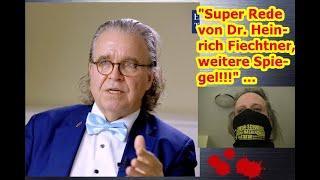 """""""Super Rede von Dr. Heinrich Fiechtner, weitere Spiegel!!!"""" ..."""