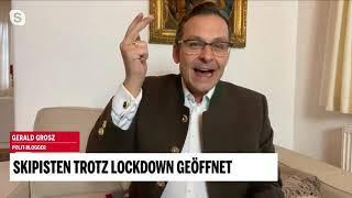Die Wirtschaft am Ende, die Skipisten voll - Gerald Grosz im Live Interview für oe24.tv