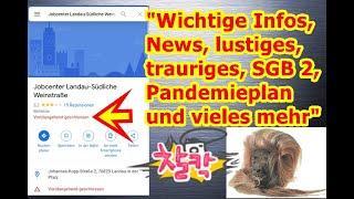 """""""Wichtiges Infos, News, lustiges, trauriges, Hartz IV, Pandemieplan, und vieles mehr"""" ..."""