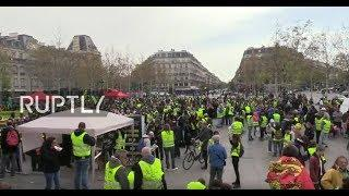 LIVE: Yellow Vests protest for 21st consecutive week