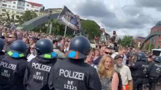 Anti-Corona-Demo in Berlin 28.08.2021