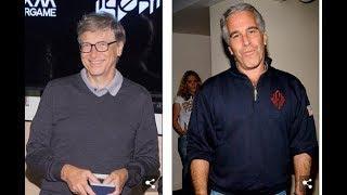 Bill Gates flog im Lolita Express von Jeffrey Epstein