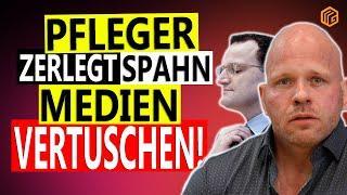 PFLEGER ZERLEGT SPAHN - MEDIEN VERTUSCHEN!!!