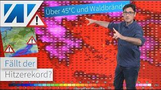 Historische Horror-Hitze erreicht Europa! Höchste Alarmstufe! Kommt die Hitze auch nach Deutschland?