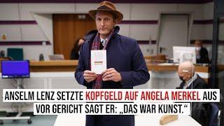 """Anselm Lenz setzte Kopfgeld auf Angela Merkel aus. Vor Gericht sagt er: """"Das war Kunst"""""""