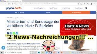"""""""2 Hartz IV News-Nachreichungen"""" ..."""