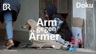 Obdachlos in Bayern - Konkurrenz auf der Straße   DokThema   Doku