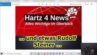 """""""Wieder mal Hartz IV News und etwas Rudolf Steiner!!!"""" …"""