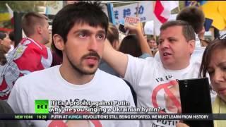 Mit einem Putin T-Shirt durch New York – RT wagt das Experiment....