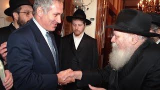 The Rebbe and Bibi Netanyahu: Politicians For Redemption