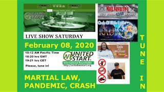 Coming? Martial Law, Pandemic, Crash? - United We Start Roundtable Discussion 8th of February 2020