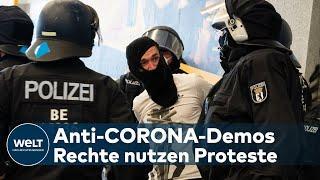 "CORONA-SKEPTIKER: ""Besondere Mischung"" -  Wer sind diese Demonstranten?"