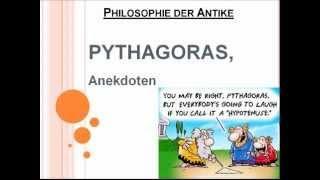 Pythagoras, Anekdoten!