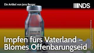 Impfen fürs Vaterland – Blomes Offenbarungseid | Jens Berger | NachDenkSeiten-Podcast | 08.12.2020