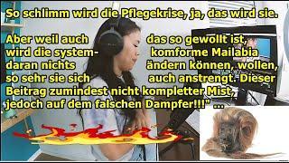 """""""MaiLab zur Pflegekrise, diesmal nicht unterirdisch, aber mit falschen Ansätzen (wie ich meine)!!!"""""""