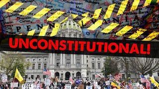 Judge Rules COVID Lockdown Unconstitutional - #NewWorldNextWeek