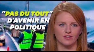 """Ingrid Levavasseur ne voyait """"pas du tout"""" son avenir en politique"""