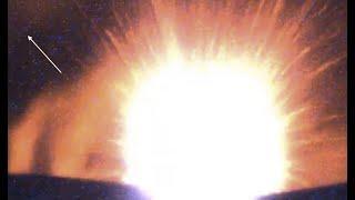 Strange Bright Object (UAP) Soars Over Mt Etna Volcano AS It ERUPTS! - EQUINOX 12 | 12