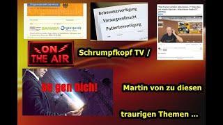 """Trailer:  """"Patientenverfügung, Organspendenausweis, 5G, Chemtrails, Zwangsimpfung, SGB II, usw., .."""