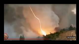 Beweise - Brände durch Laserwaffen ausgelöst