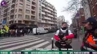 ACTE 65 GILETS JAUNES - MANIFESTATION À PARIS
