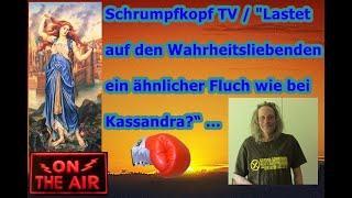 """Trailer: Schrumpfkopf TV  """"Lastet auf den Wahrheitsliebenden ein ähnlicher Fluch wie bei Kassandra?"""